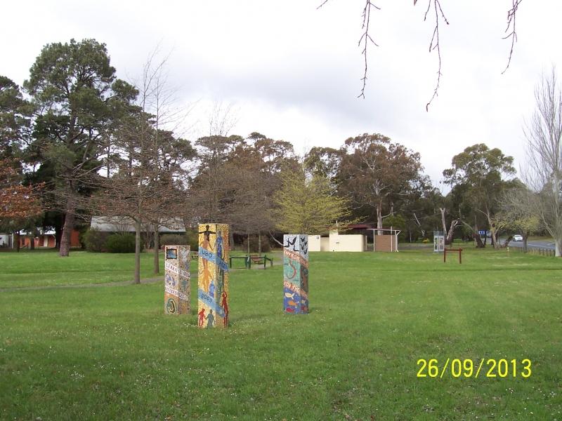 Centennial Park Mosaic Statues