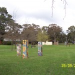 Centennial Park Mosaic Statues represent the Culture and Environment of Macedon Ranges